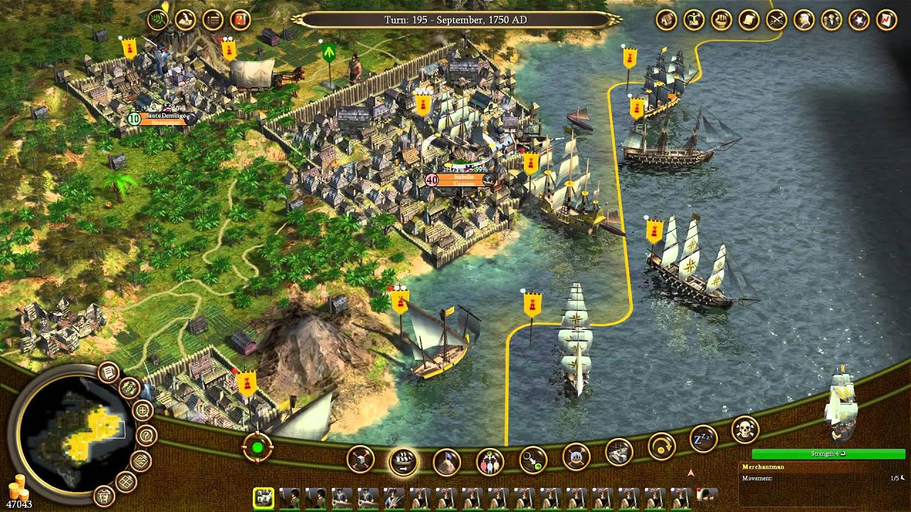 Civilization IV: Colonization - Largest Colony Ever! 40+ ...