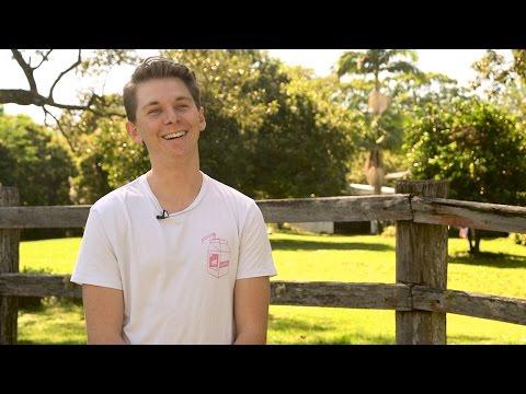 A life-changing scholarship - Nic Horowitz