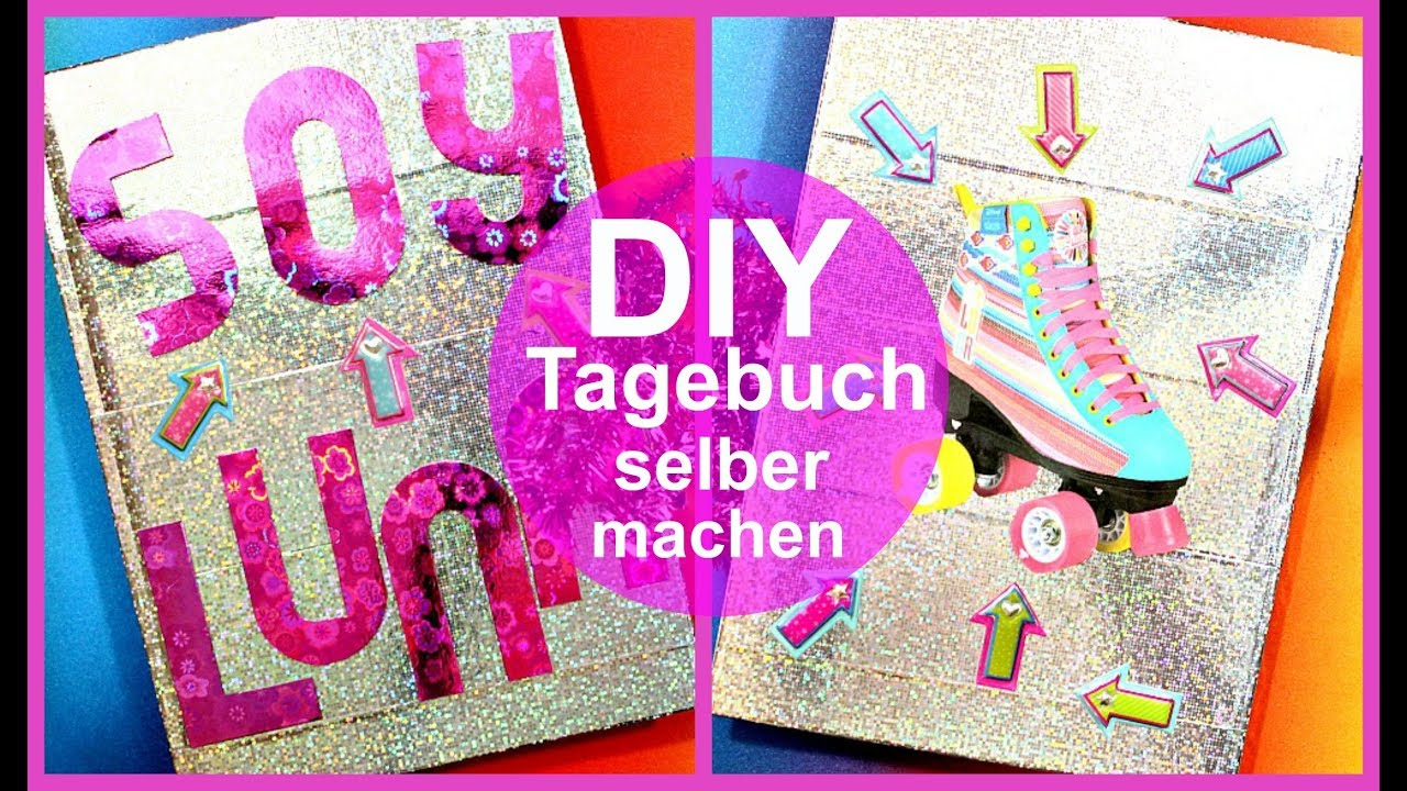 soy luna diy deutsch tagebuch selber machen. Black Bedroom Furniture Sets. Home Design Ideas