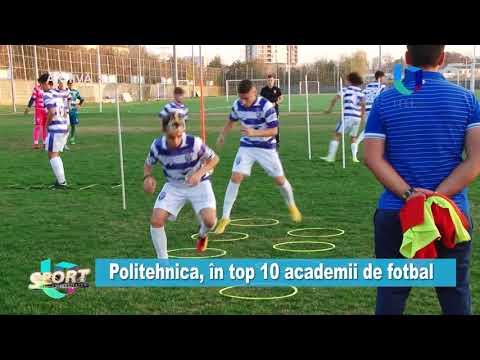 TeleU: Politehnica, în top 10 academii de fotbal