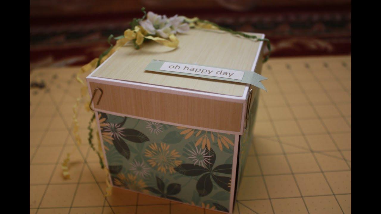 Пасхальная коробочка с сюрпризом - YouTube
