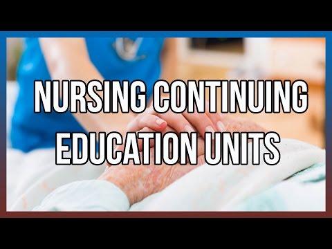 Nursing Continuing Education Units
