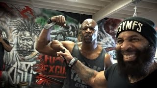 CT Fletcher VS Terry Crews (RUS Sportfaza)
