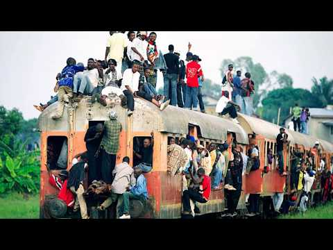 Train in Democratic Republic of Congo railway, Lumbubashi, Luena, Lualaba, Kinshasa, Buyofwe ,train