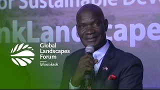 Harrison Karnwea: How Liberia fights climate change by planting trees – GLF 2016 Marrakesh