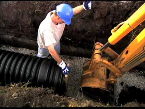 Hdpe Pipe Installation Video Hdpe Pipe Assembly Youtube