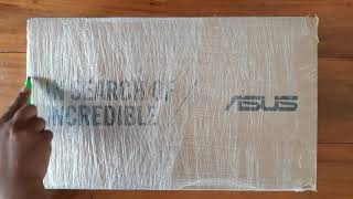 First video [Unboxing] Notebook Asus x541UJ