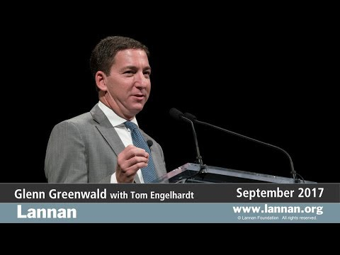 Glenn Greenwald, Talk, 27 September 2017