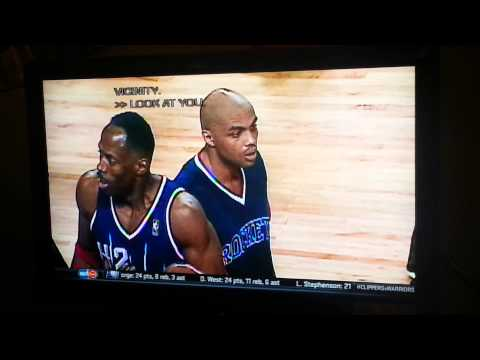 Barkley clowns Kevin Willis from 1994 NBA incident