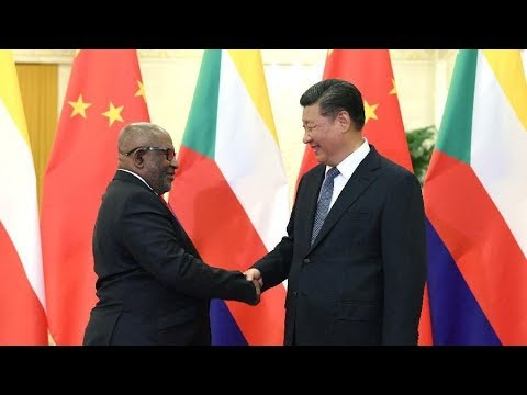 China, Comoros to promote ties to higher level