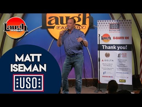 Matt Iseman   Too Big To Fly   Laugh Factory Stand Up Comedy
