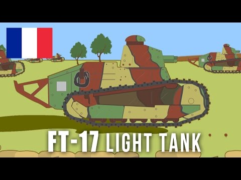WWI Tanks: FT-17 Light Tank