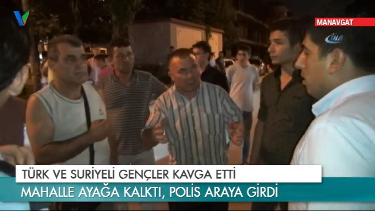 Türk ve Suriyeli Gençler Kavga Etti