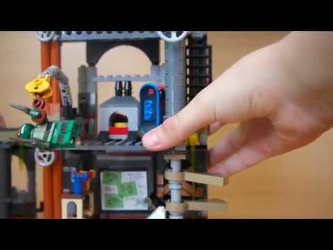 Обзор набора LEGO Черепашки-ниндзя 79103 Атака на логово черепашек