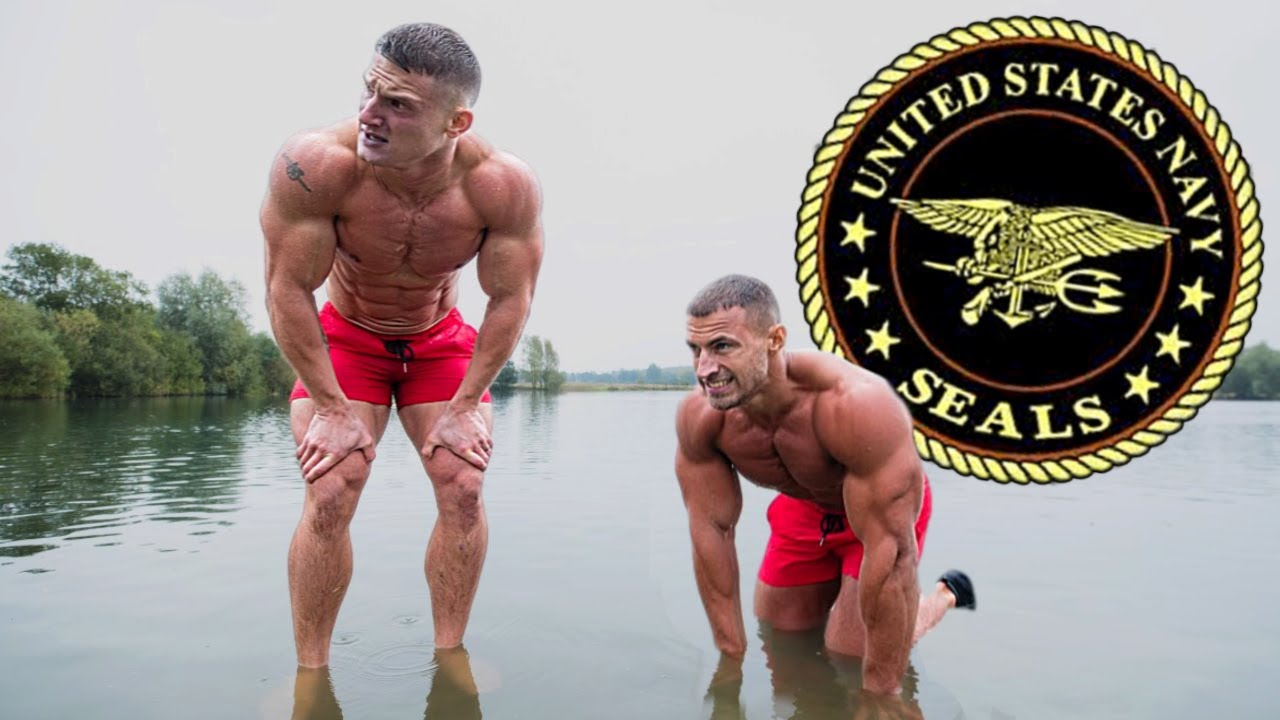 Bodybuilders try the US Navy Seals Fitness Test without practice