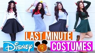 LAST MINUTE Disney Inspired COSTUMES!