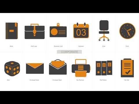 Essential Business Icons  - After Effects template from Videohive