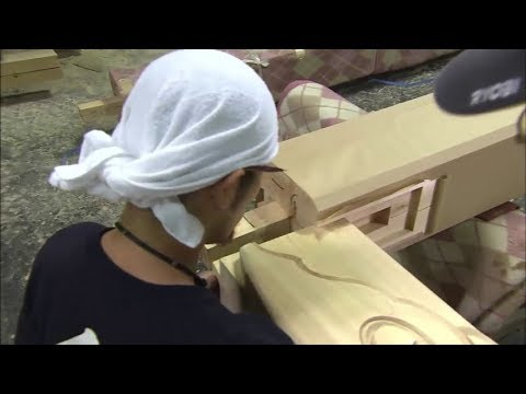 Incredible Woodworking with Ancient Techniques of The Shrine Carpenters - Building Without Nails