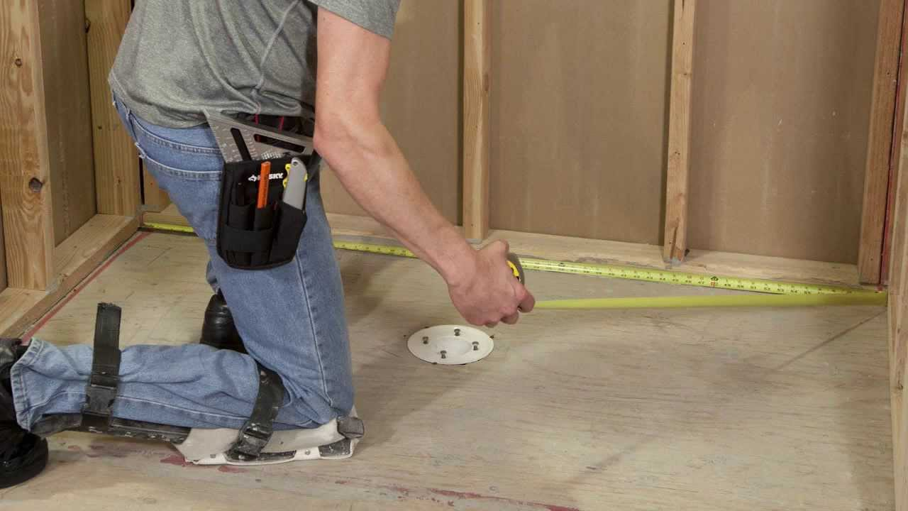 How To Install A Redgard Shower Base Kit English