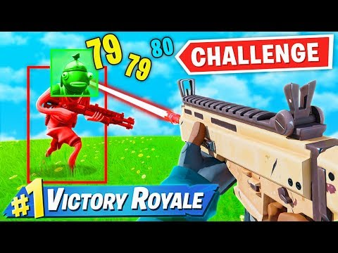 Fortnite But Headshots ONLY!