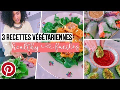 3-recettes-vÉgÉtariennes,-healthy-&-faciles- -inspiration-pinterest