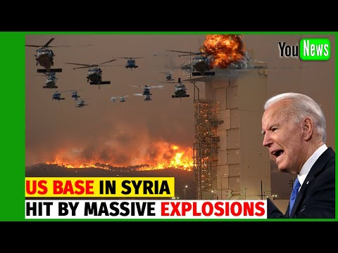ROCKET ATTACK ON US BASE! Biggest US Base In Syria Hit By Massive Explosions.