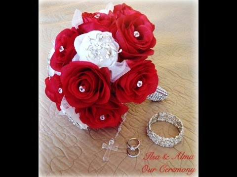 ♥ Brooch Wedding Bouquet ♥ | D.I.Y Under $20.00