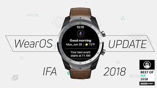 New Wear OS 2018 Update: What