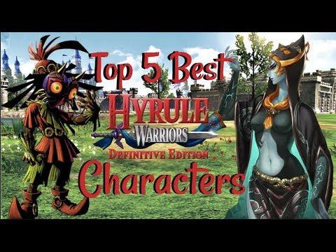 Hyrule Warriors Definitive Edition Top 5 Best Characters Zelda Youtube