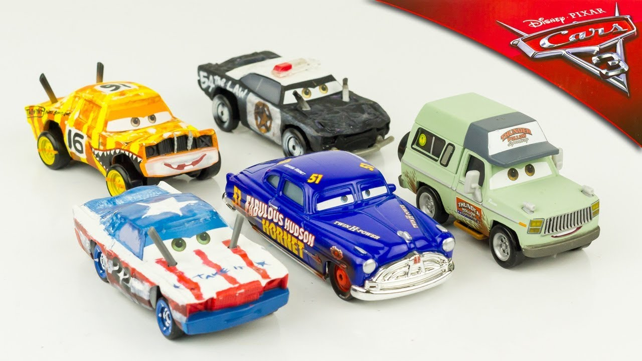 Disney cars 3 voitures miniature m tal diecast thunder hollow hudson hornet banshee jouet toy - Coloriage cars 3 thunder hollow ...