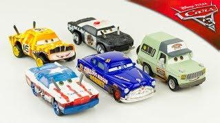 Disney Cars 3 Voitures Miniature Métal Diecast Thunder Hollow Hudson Hornet Banshee Jouet Toy Review