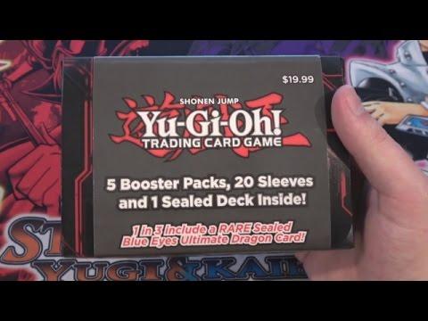 Yugioh Target Value Deck Box Opening 5 Packs 20 Sleeves & 1 Deck of Cards