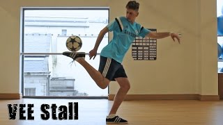 VEE Stall (Tutorial) :: Freestyle Football / Soccer (LOWERS) with Daniel Dennehy
