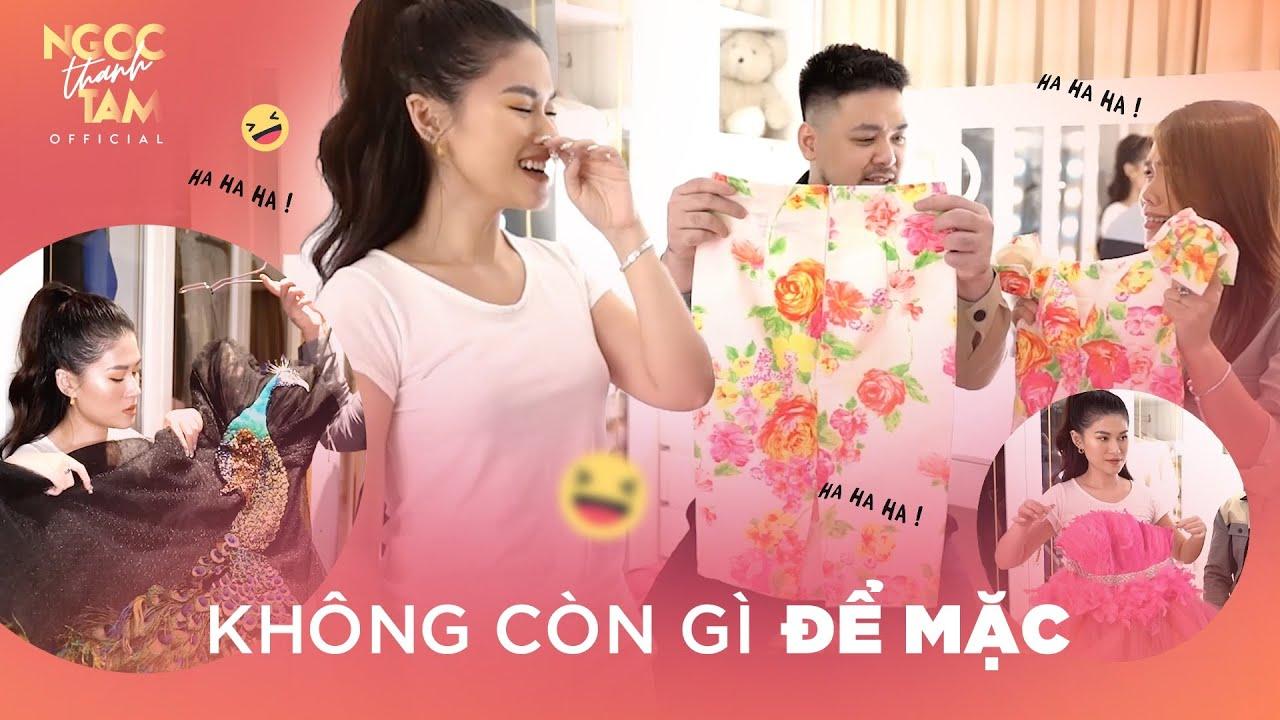 DỌN HẾT PHÒNG QUẦN ÁO ĐI THANH LÍ | Ngọc Thanh Tâm