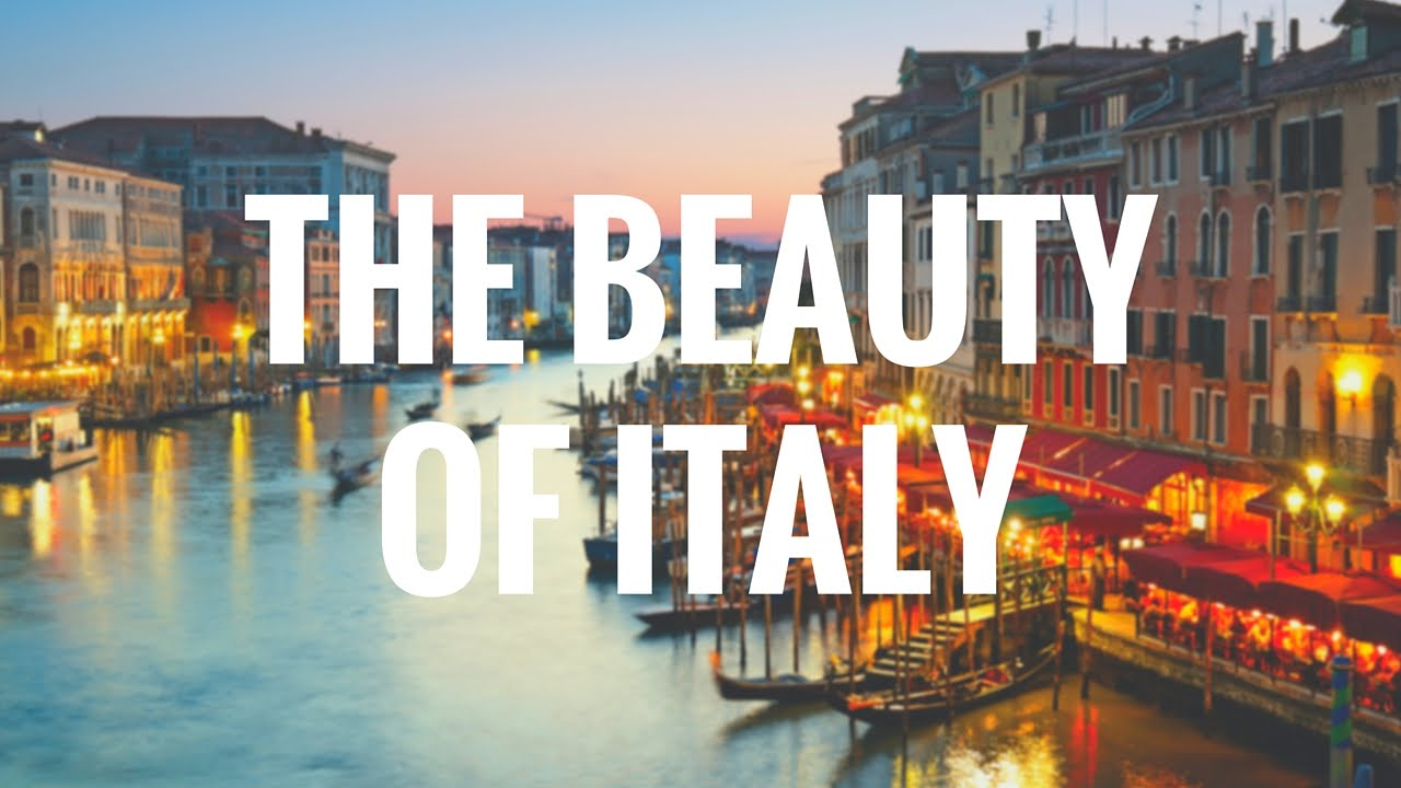 Tour - The Beauty of Italy - YouTube