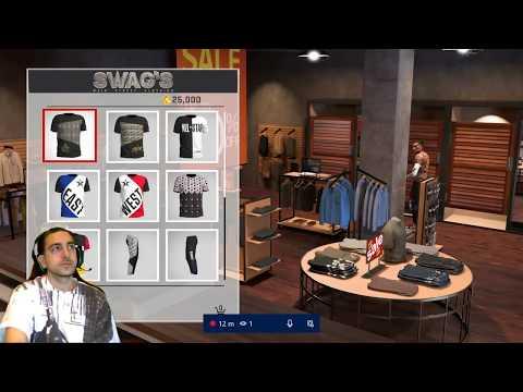 40 FREE TSHIRTS ON NBA 2K18 NIKE DBZ SUPREME XBOX ONE PS4