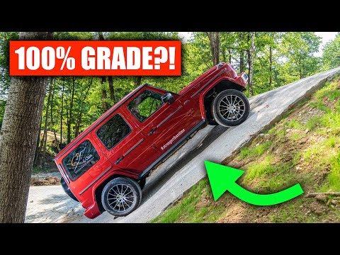 Can A Mercedes G-Wagon Actually Climb A 100% Grade?