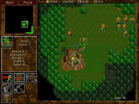 Warcraft 2 Chop Farms - Chopbug patterns
