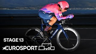 Vuelta a España - Stage 13 Highlights | Cycling | Eurosport