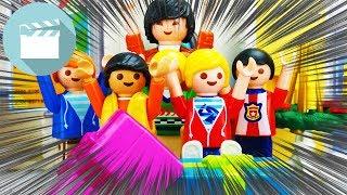 Playmobil Schule Film deutsch   Schrottwichteln in der Schule - Wer bekommt was?   Marvin und Jonas