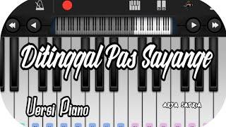 Download lagu Ditinggal Pas Sayang Sayange _Safira Versi piano