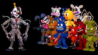 - FNaF World the return to evil Финал Игры