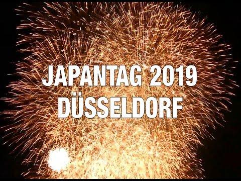 Japantag 2019 Düsseldorf 花火 日本の日 Feuerwerk ドイツ日本デー2019 花火フィナーレ