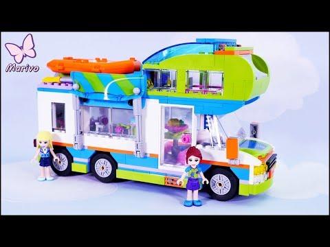 Samochód kempingowy Mii 🌺 Nowość Lego Friends 41339 🌺 Budowanie Recenzja Zabawa klocki Openbox