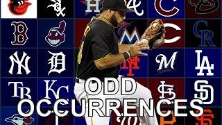 MLB: Odd Occurrences