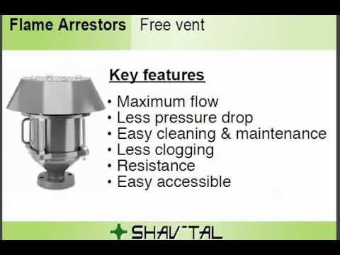 Flam Arrestors Popular Models Amp Common Applications