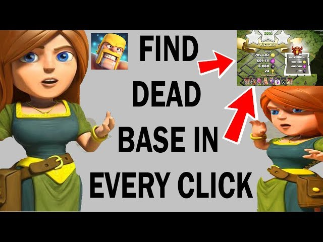 (HINDI) HOW TO FIND DEAD BASES EVERY CliCK IN clash of clans