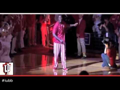 Harlem Shake Indiana Hoosiers Men's Basketball