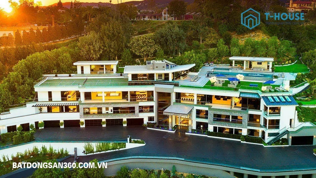 Chiêm ngưỡng ngôi biệt thự đắt nhất thế giới – Fantastic Bel Air Mega Mansion
