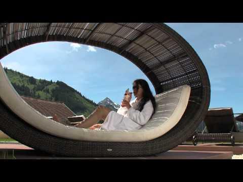 Wellness erleben im hotel engel im tannheimer tal youtube for Designhotel tannheimer tal